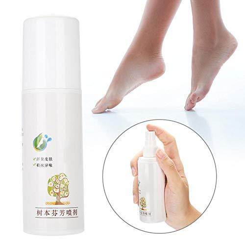 Foot Deodorant Spray,Natural Safe Most Effective Foot Antiperspirants Odor Eliminator for Anti-bacteria Foot Spray Foot Care Remover,Destroys