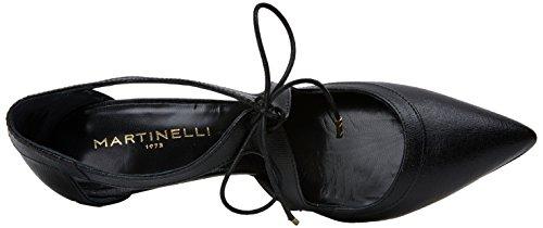 Punta Navia Tacón Black Negro Martinelli de a835s para Zapatos con 1271 Cerrada Mujer pwwdaqx0
