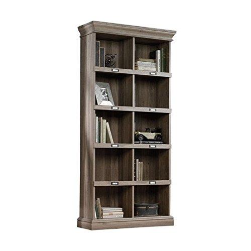 Construction Recycled Binder - Sauder 414108 Barrister Lane Bookcase, L: 35.55