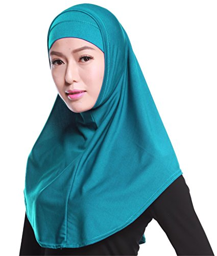2pcs Coperchio Lake Musulmano Sciarpa Comodo Della Fortuning's Jds Di Testa Blue Leggero Set Hijab Modo tqwXaSSB