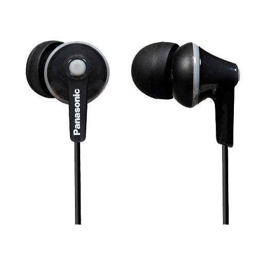 Panasonic RP-HJE126E-K In-Ear-Kopfhörer schwarz