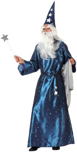 Atosa-10156 Disfraz Mago, color azul, M-L (10156): Amazon.es ...