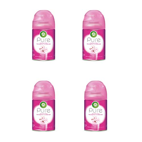 Air Wick Pure Freshmatic 4 Refills Automatic Spray, Tropical Flowers, (4X6.17oz), Air Freshener