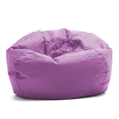 "Big Joe Bean Bag, 98-Inch, Radiant Orchid , 19""L x 19""W x 24""H -"