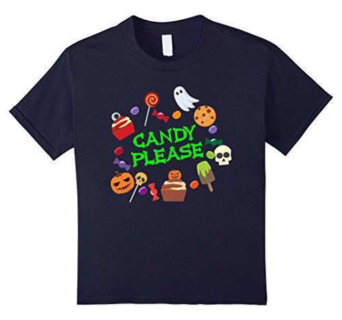 Sweet Cupcake Kids Costumes (Kids Halloween Sweets Shirt Candies Cupcake Trick or Treat Gift 12 Navy)
