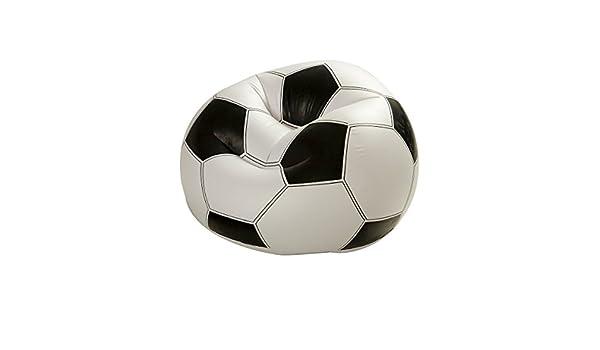Dabuty Online, S.L. Sillon PUF hinchable diseño balon de futbol ...