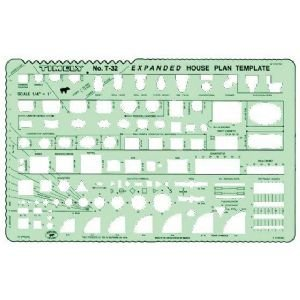 TEMPLATE EXPANDED HOUSE PLAN Drafting, Engineering, Art (General Catalog) ()