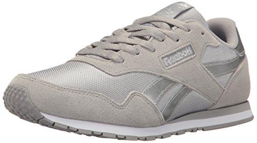 Reebok Kvindernes Royal Ultra Sl Mode Sneaker Tin Grå / Sølv Metallic / Hvid 0utioe4