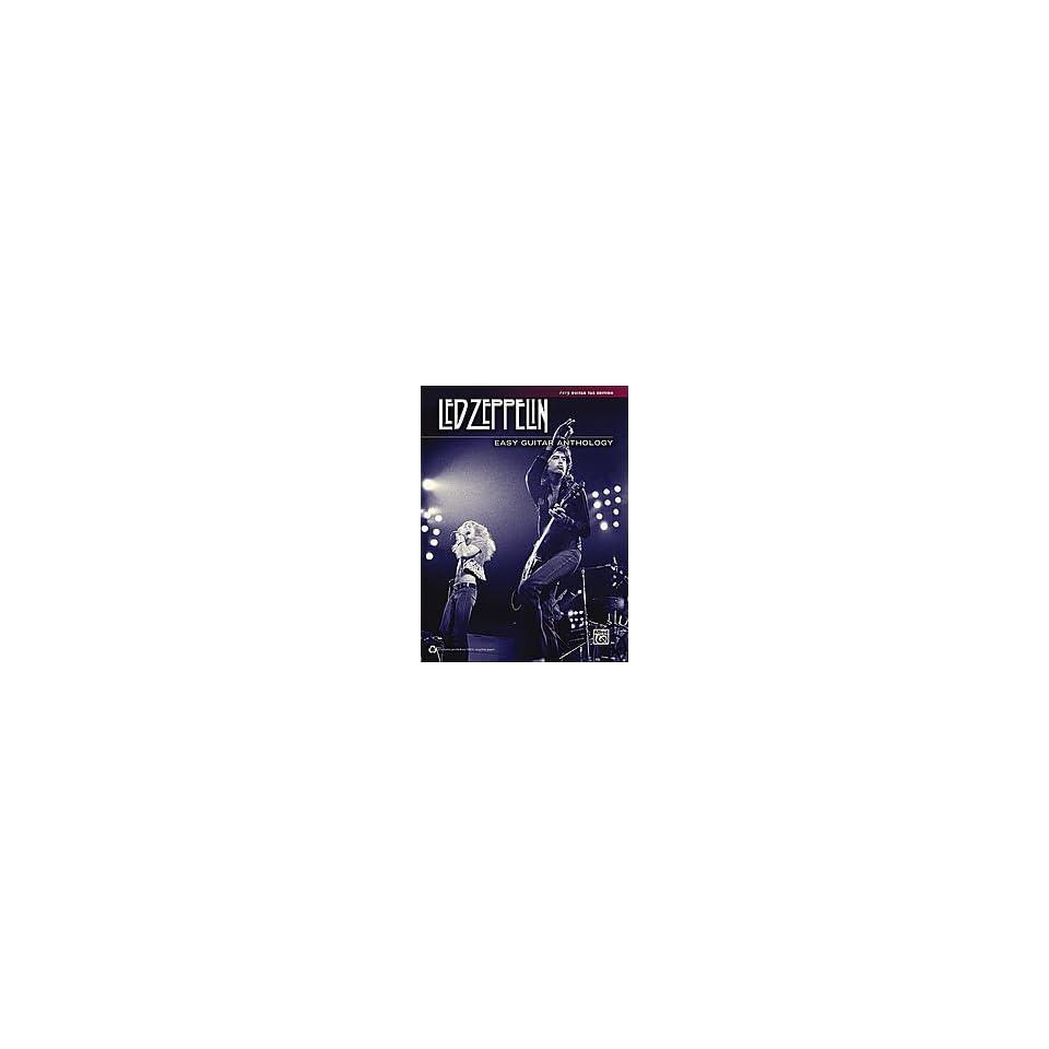 Led Zeppelin Easy Guitar Anthology Book