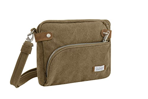 Travelon Anti-theft Heritage Crossbody Bag, Oatmeal by Travelon