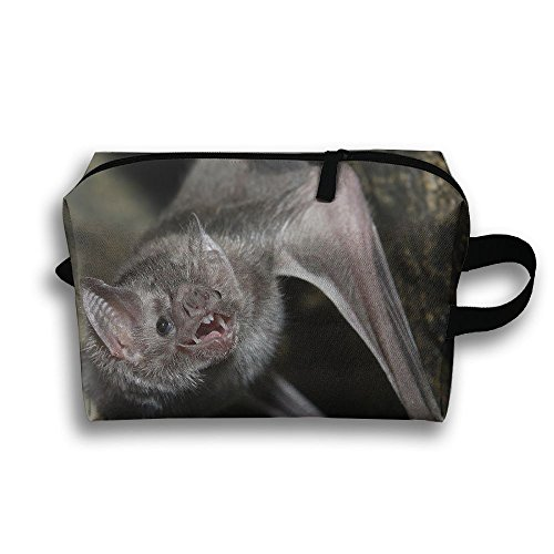 JIEOTMYQ Bat Animal Natural Scenery Travel/Home Use Storage Bag, Carts Storage Space, Moisture Proof Washing Bags, Organizers Boxes Set by JIEOTMYQ