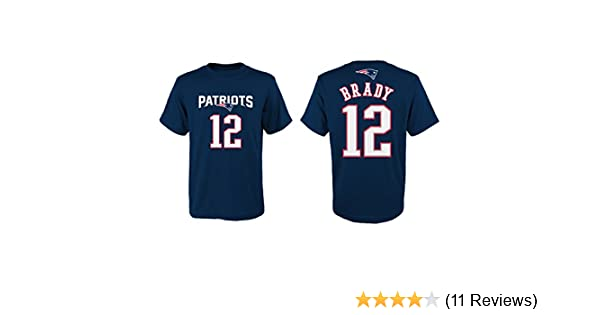 13c1ddcc Amazon.com : Outerstuff Tom Brady New England Patriots Youth ...