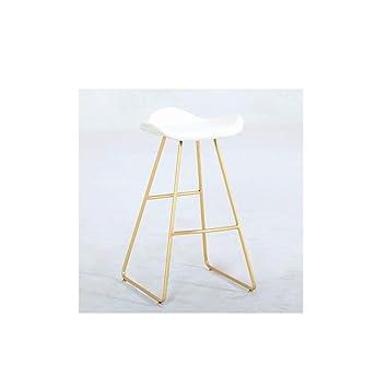 LRZS-Furniture Taburete de Bar Minimalista Moderno Gama Alta con ...