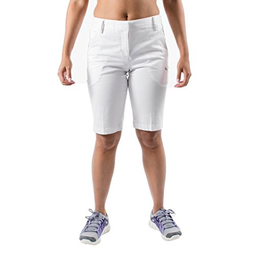 Puma Women's Tech Golf Shorts - 560685-02 - White - Size 10