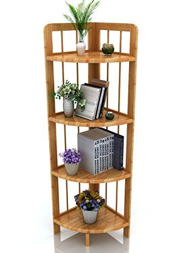 bathroom wall corner shelf unit - 4