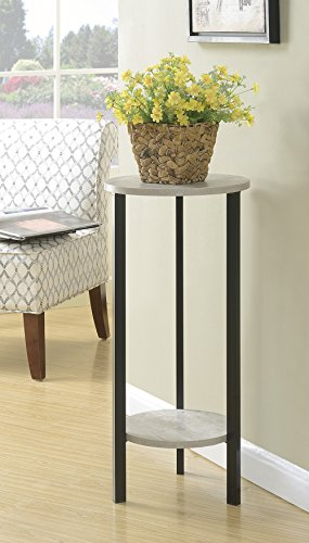 "Convenience Concepts Graystone 31"" Plantstand, Faux Birch"