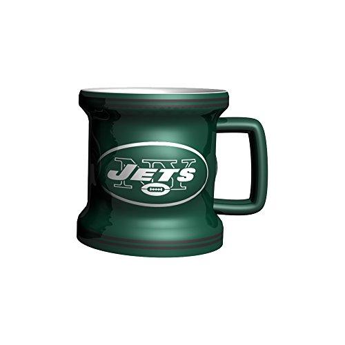 - NFL New York Jets Sculpted Mini Mug, 2-ounce