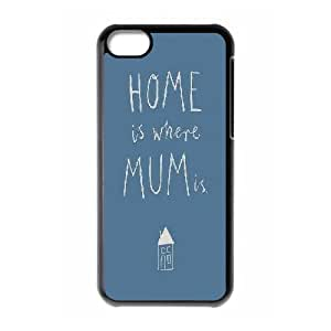 IPhone 5C Cases Home is Where Mum Is, Kyle5v, {Black}