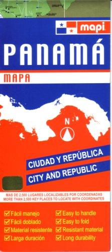 Panama 1:1.2M & Panama City 1:15,000 Visitor's Map