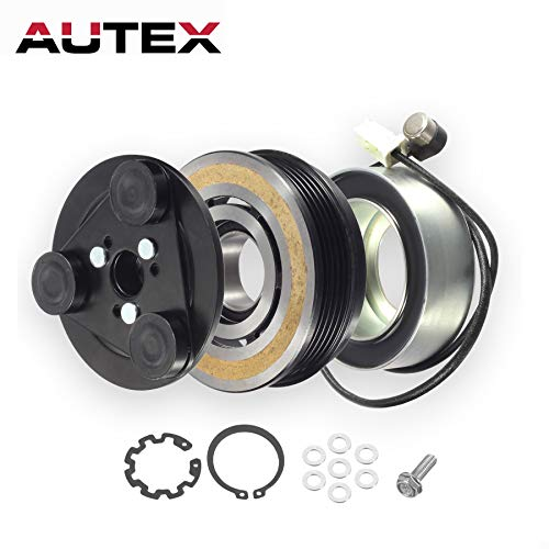 AUTEX AC A/C Compressor Clutch Coil Assembly Kit BP4S61K00 Replacement for MAZDA 3 NON TURBO ENGINE 2004 2005 2006 2007 2008 2009/MAZDA 5 2006 2007 2008 2009 2010