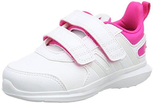 adidas Hyperfast 2.0 CF I Zapatillas, Bebé-niños, Blanco, 20
