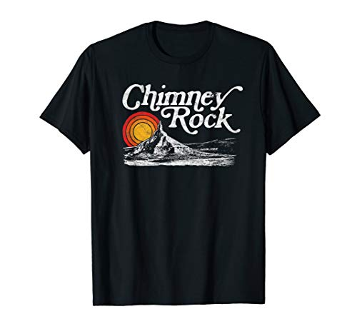 Chimney Rock Nebraska - Retro Vintage Graphic Shirt