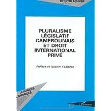 Pluralisme législatif camerounais et droit international privé