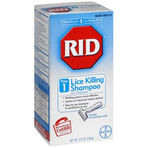 PACK OF 3 EACH RID LICE KILLING SHAMPOO 59ML PT#7430000412 by Marble Medical