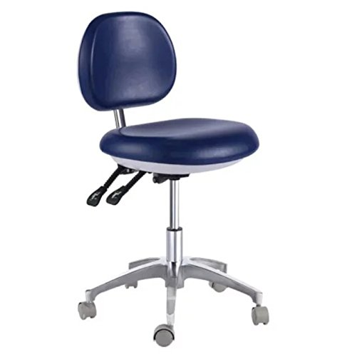 - Adjustable QY500 Lab Dental Assistant's/Medical Office Doctor's Stools Mobile Chair PU By East Dental