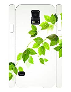 Fancy Hipster Natural Series Leaf Pattern Skin for Samsung Galaxy S5 I9600 Case