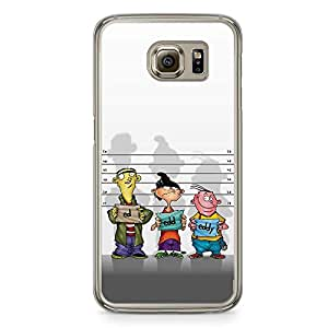 Loud Universe Ed Edd and Eddie Samsung S6 Case Arrested Character Samsung S6 Cover with Transparent Edges