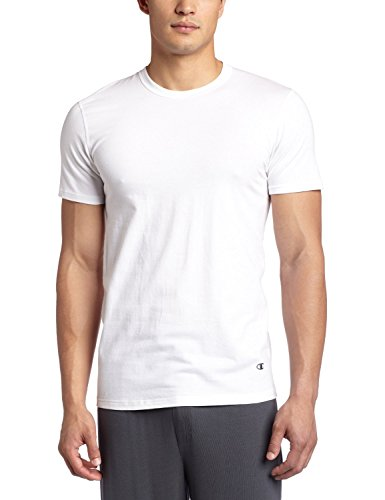 Champion Men's 2-Pack Double Dry Activefit Crew T-Shirt, White, XX-Large