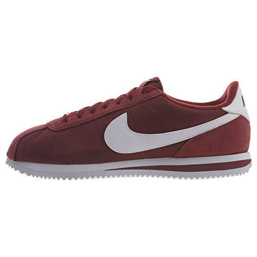 Nike Men's Classic Cortez Nylon Casual Shoe (10.5 M US, Team Red/White-Team Red)