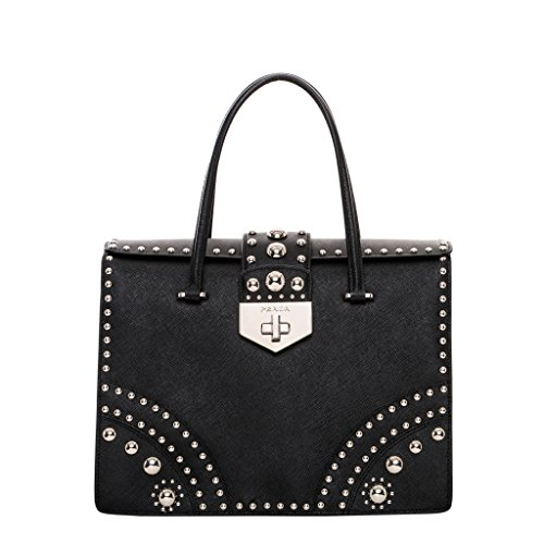 Prada-Womens-Studded-Saffiano-Shopper