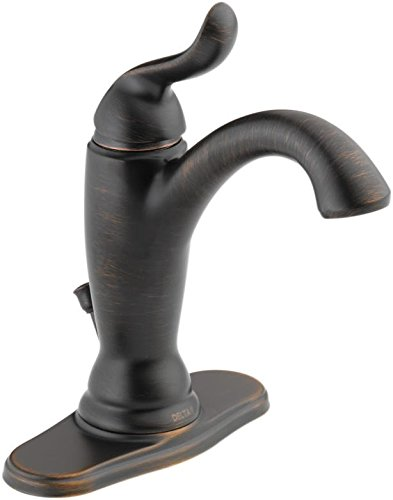 Delta Faucet Linden Single-Handle Bathroom Faucet with Diamo