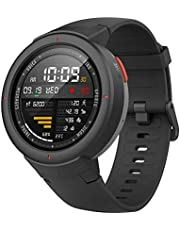 Amazfit Smartwatch Verge 1.3'' OLED Display,GPS Orologio Fitness,Phone-Free Music,RAM 512M,ROM 4GB,risoluzione 360×360 Nero