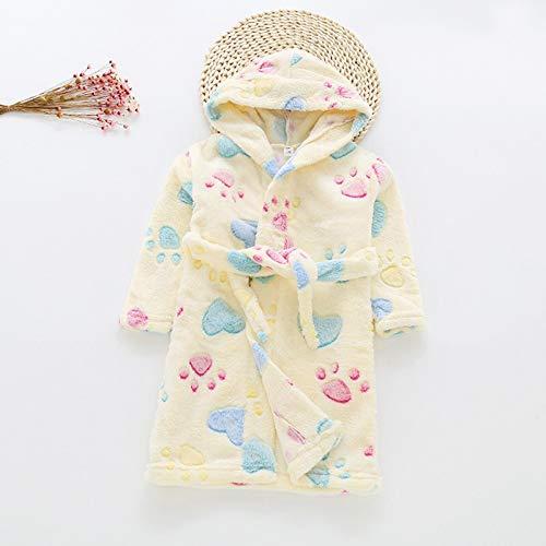 Badjas met capuchon voor jongens en meisjes, ochtendjas voor kinderen, gewaad Housecoat Peuter Baby Jongens Meisjes…