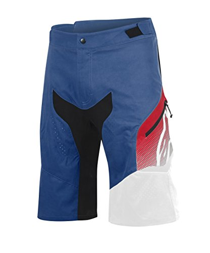 - Alpinestars Men's Predator Shorts, Royal Blue/Red/White, Size 34
