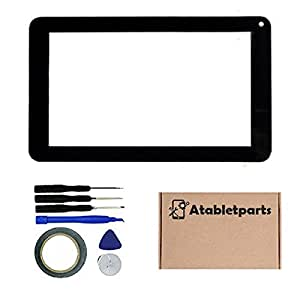 Atabletparts Replacement Digitizer Touch Screen for Emerson EM756BK 7 Inch Tablet