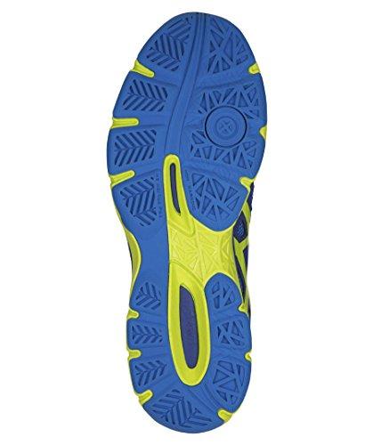 bleu vert de Volleyball Gel Asics Chaussures Ballistic foncà flash blanc Netburner Homme FqwzgB0