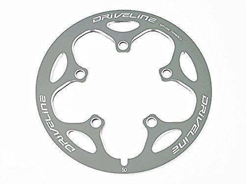 line bcd110 CNC chain guard chain rings cover (Titanium Grey) ()