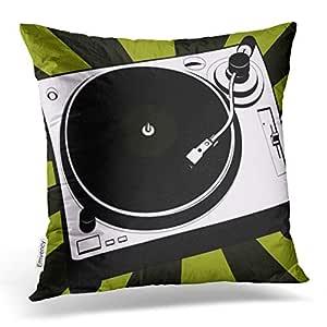 emvency manta funda de almohada de diciembre Navidad DJ música ...