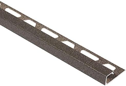 VG Schluter QUADEC Square Edge Tile Edging Trim 1//2, Traffic Grey