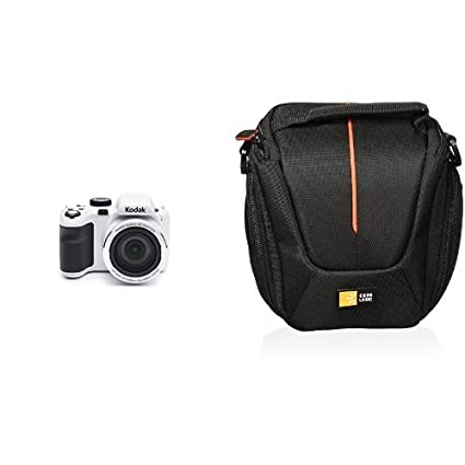 Black Camera Case Bag for KODAK AZ365 Bridge Camera