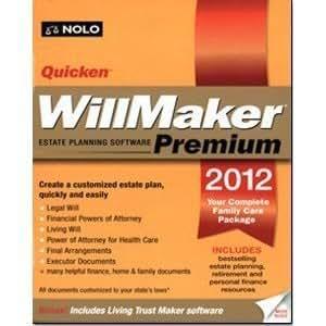 Quicken WillMaker Premium 2012 with Living Trust Maker Software