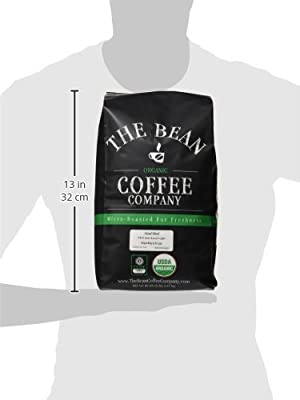 The Bean Coffee Company Organic Island Blend, Medium Roast, Ground, 16-Ounce Bag
