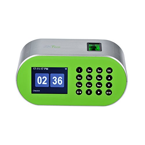 Fingerprint Desktop Time Clock Biometric Automatic Time Attendance Machine System for Small Business by ZKTeco