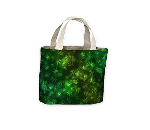 Weed Background Leaf Leaf Shopping For Bag Pattern Pattern Weed Life Tote ZqEXwaA