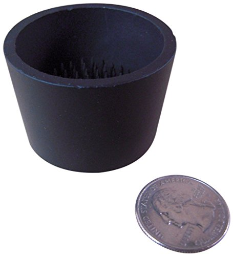 JWL Kenzan Ikebana Black Color Water Holding Flower Arranger Pin Frog 1.875 Inch Tapered Cup - (1) Included by JWL Hawnkoa