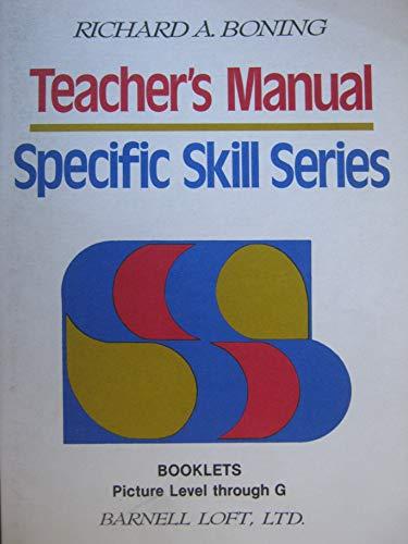 Teacher's manual: Specific skill series